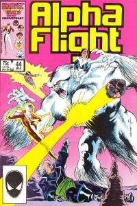 Alpha Flight (1983 series) #44, NM- (Stock photo)