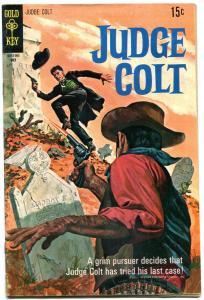 Judge Colt #3 1970-Gold Key Western FN