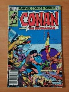 Conan the Barbarian #138 Newsstand Edition ~ NEAR MINT NM ~ 1982 Marvel Comics