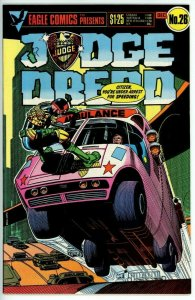 Judge Dredd #26 (1983 Eagle) - 9.0 VF/NM *City Block 1*
