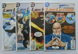 Superman's Nemesis Lex Luthor, Set:#1-4, 8.0/VF (1999)