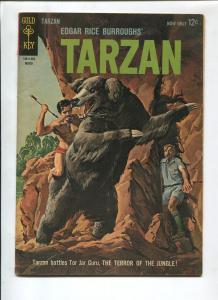 TARZAN #134 1963-GOLD KEY-EDGAR RICE BURROUGHS-VG