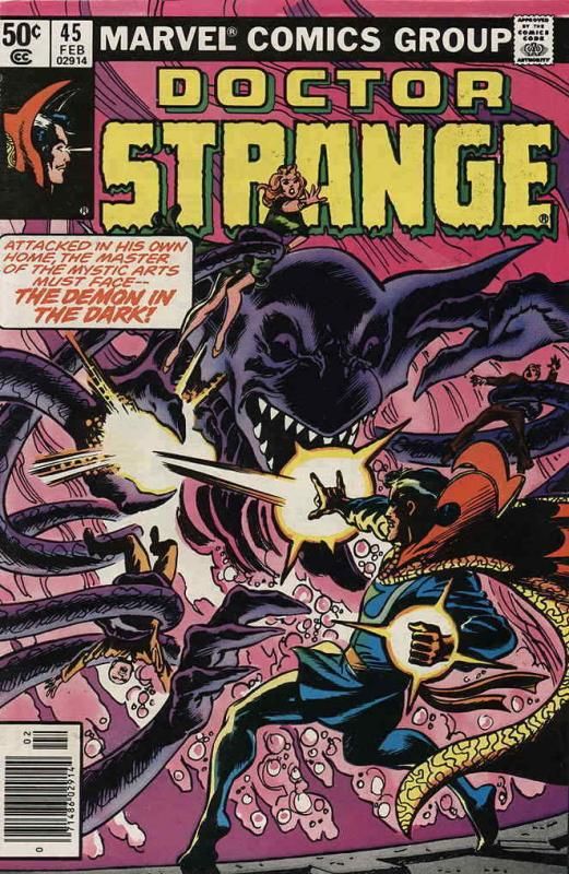 Doctor Strange (2nd Series) #45 VF/NM; Marvel | save on shipping - details insid