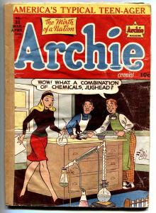 Archie #31 -1948-MLJ-Betty-Veronica-spicy cover-Golden-Age