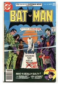 Batman #291 Joker Rogues Gallery- 1977-Bronze Age-DC VF