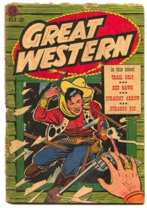 Great Western #8 1954- DURANGO KID- incomplete
