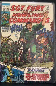 Sgt. Fury #72 (1969)