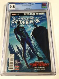 Amazing Spider-man 19 Cgc 9.8 White Pages Alex Ross Volume Vol V 4 Marvel