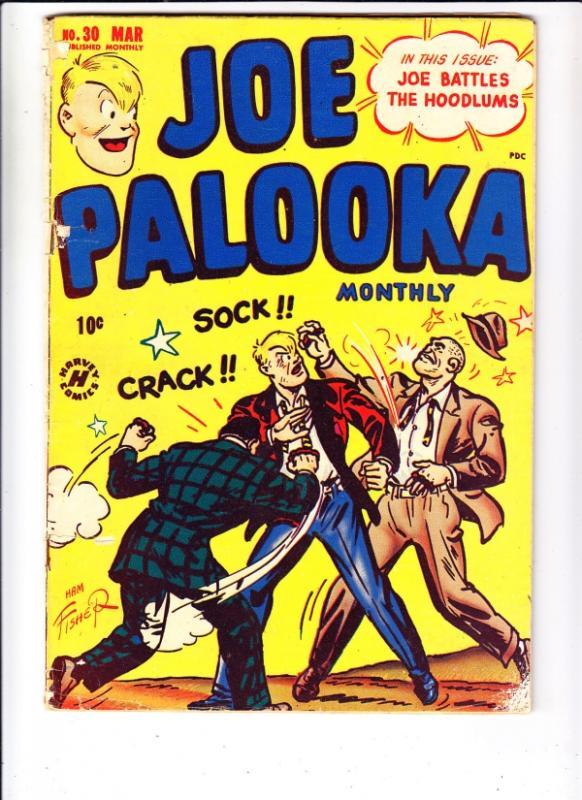 Joe Palooka Comics #30 (Mar-49) VG/FN Mid-Grade Palooka Joe