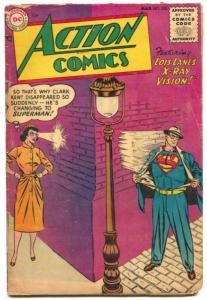 Action Comics #202 1955- DC Silver Age- Superman 1st code issue VG-