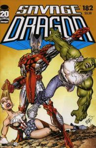 Savage Dragon, The #182 VF; Image | save on shipping - details inside