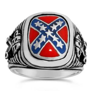 CSA Cavalry ring sterling silver