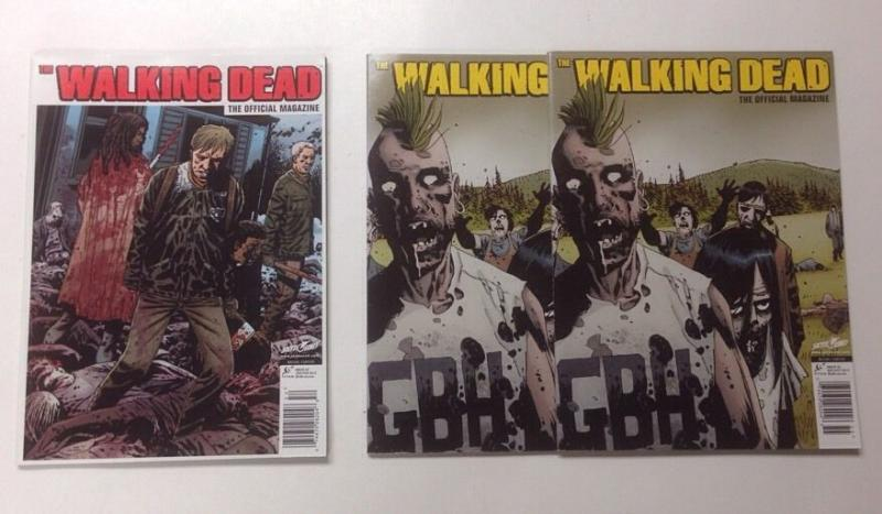 Walking Dead Official Magazine Issues 2 5 Lot Set Run