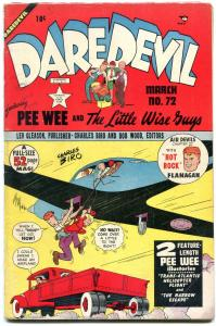 Daredevil #72 1951-Lev Gleason- Charles Biro- Little Wise Guys VG/F