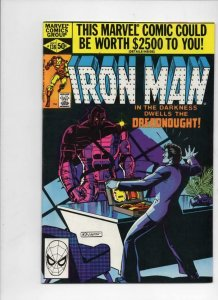 IRON MAN #138, VF/NM Tony Stark, DreadNought, 1968 1980, more IM in store Marvel