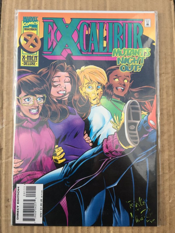 Excalibur #91 (1995)