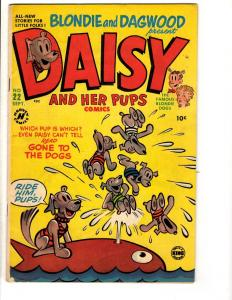 Daisy & Her Pups Comics # 22 VF- Harvey King Feature Comic Book Blondie Dagw JL2