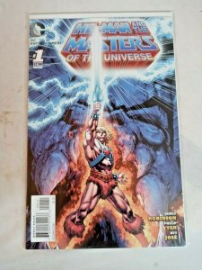 DC Comics He-Man And The Masters Of The Universe #1 2012 series NM