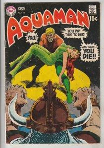 Aquaman #46 (Aug-69) FN Mid-Grade Aquaman, Aqualad, Mira