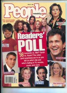 People Weekly 4/27/1998-Time-People's Reader's Poll issue-Oprah-George Cloone...