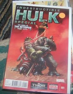 INDESTRUCTIBLE HULK # 1special  marvel arms of the octopus pt 2 x men superior