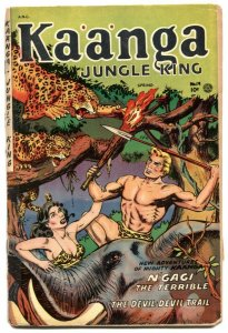 Kaanga #19 1954-Fiction House GGA Jungle -low grade