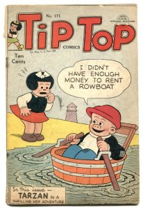 Tip Top Comics #171 1951- Tarzan- Nancy G