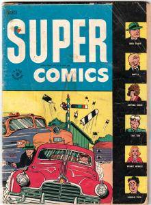 Super Comics #94 (Mar-46) VG Affordable-Grade Dick Tracy