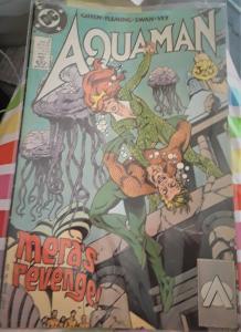 DC COMICS-AQUAMAN-#3-DATED:AUG. 1989-MERA'S REVENGE-CCA-3 OF 5 BOOKS