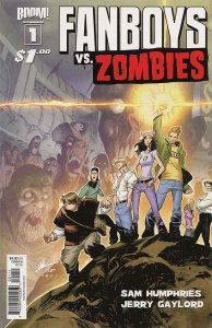 Fanboys Vs. Zombies #1D VF/NM; Boom!   save on shipping - details inside