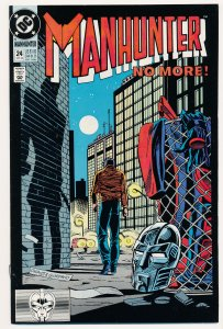 Manhunter (1988 1st Series) #24 VF Last issue of the series