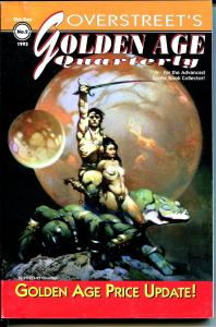 Overstreet's Golden Age Quarterly #2 1993-2nd ed.-Frazetta cover-Kirby-Ditko-FN