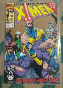 UNCANNY X-MEN #280 1991 MARVEL MUIR ISLAND SAGA   XFACTOR SHADOW KING