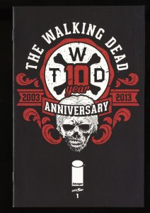 Walking Dead 2014 Special Anniversary Edition #1 NM 9.4