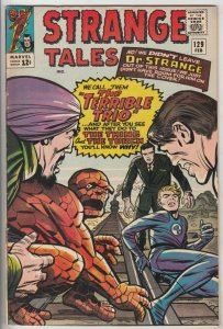 Strange Tales #129 (Feb-65) FN/VF Mid-High-Grade Human Torch, the Thing, Doct...