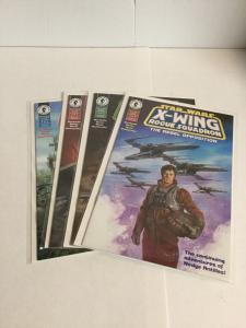 Star Wars X-Wing Rogue Squadron The Rebel Opposition 1-4 Lot Vf Very Fine A5