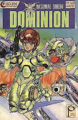 Dominion #1 VF; Eclipse   save on shipping - details inside