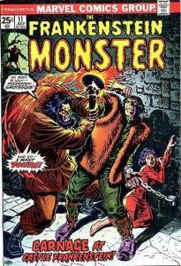 Frankenstein (1973 series) #11, Fine- (Stock photo)