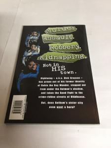 Nightwing A Knight In Blüdhaven Tpb Nm Near Mint Collects 1-8