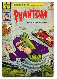 PHANTOM #15 1958-HARVEY HITS #15 comic book-CROCODILE ATTACK-ORIGIN-FN
