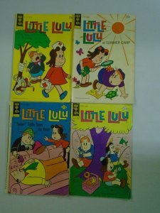 Bronze age Little Lulu comic lot 4 different issues 4.0 VG (Gold Key)