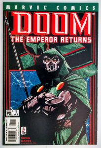 Doom: The Emperor Returns #1-3 (2002)