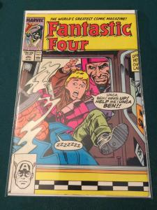 Fantastic Four #301 Franklin kidnapped by the Wizard!