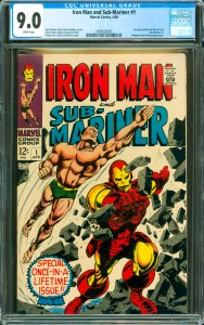 Iron Man and Sub-Mariner #1 CGC Graded 9.0 Pre-dates both Iron Man #1 and Sub...