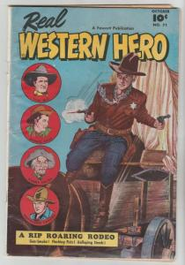 Real Western Hero #71 (Oct-48) FN Mid-Grade Hopalong Cassidy, Monte Hale, Tom...