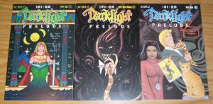 Darklight #1-3 VF/NM complete series - teri sue wood - sirius comics set lot 2