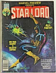 MARVEL PREVIEWS#11 FN/VF 1977 STAR-LORD MARVEL BRONZE AGE MAGAZINE