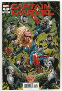 Captain Marvel #13 Cassara Venom Island Variant (Marvel, 2020) NM