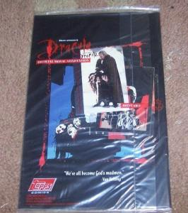 Bram Stoker's Dracula #4 1993, Topps  POLYBAGGED WITH CARD