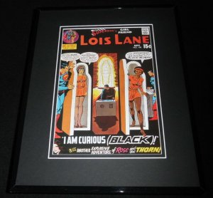Lois Lane #106 Framed 11x14 Repro Cover Display Superman